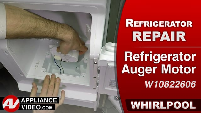 Whirlpool WRF757SDEM01 Refrigerator – Ice will not dispense – Auger Motor