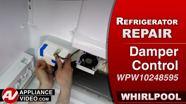 Whirlpool WRF757SDEM01 Refrigerator – Food freezes in the pantry – Damper Control
