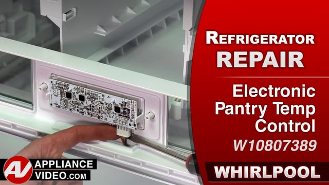 Whirlpool WRF757SDEM01 Refrigerator – Warm food in the pantry – Pantry Temperature Control