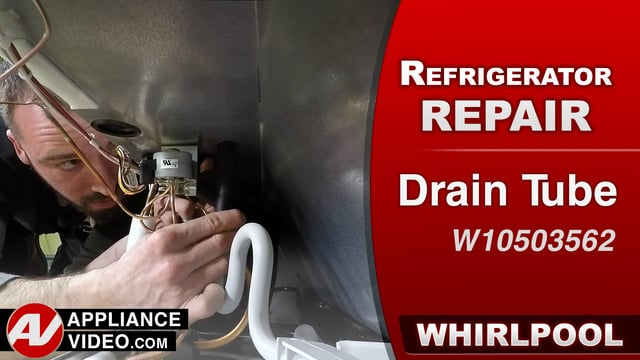 Whirlpool WRF757SDEM01 Refrigerator – Ice build up in the freezer – Drain Tube