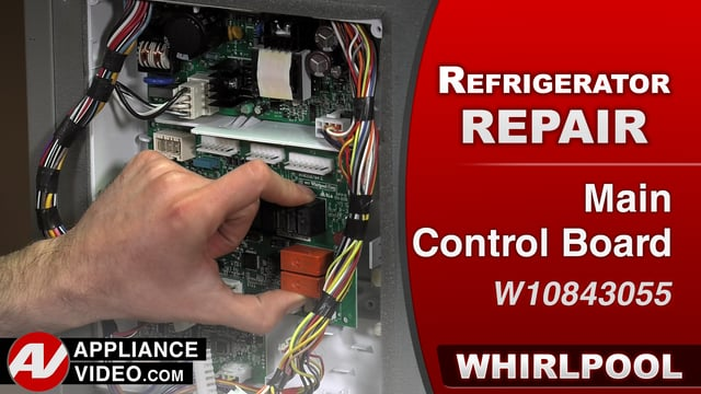 Whirlpool WRF757SDEM01 Refrigerator – Multitude of issues – Main Control Board