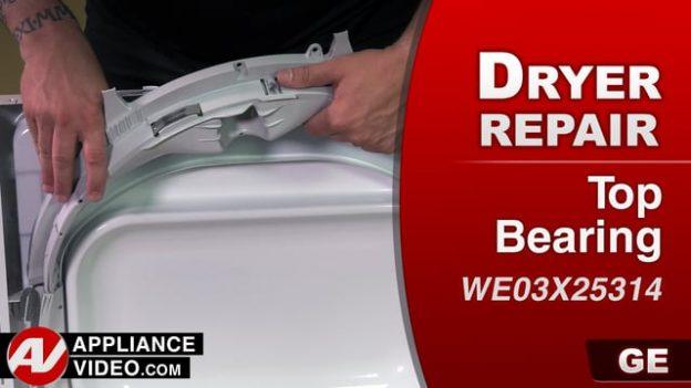 how to open overhead ge dryer repair squeaking
