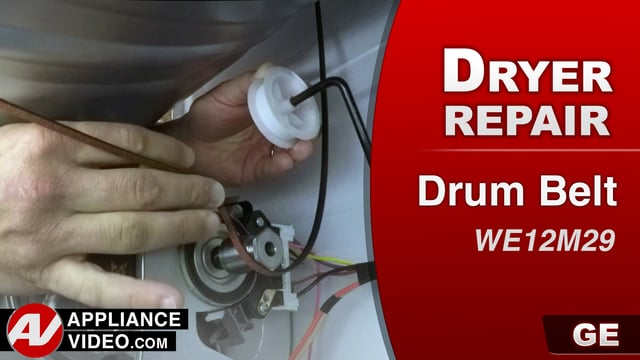 GE GTD33EASK0WW Dryer – Will not turn on – Drive Belt