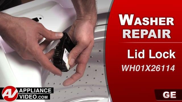 GE GTW330ASK1WW Washer – Will not run – Lid Lock
