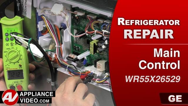 Ge Gfe28hmkes Refrigerator No Cooling Main Control