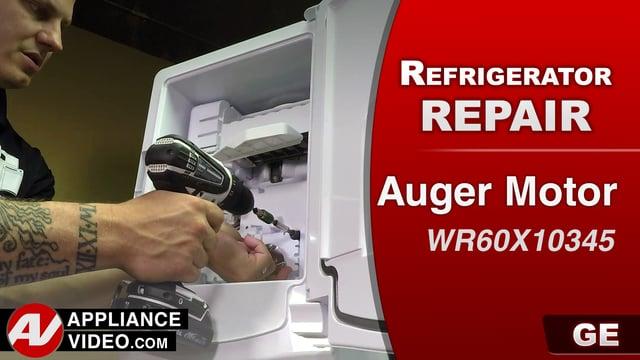GE GFE28HMKES Refrigerator – No ice being dispensed – Auger Motor