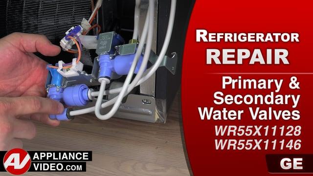 GE GFE28HMKES Refrigerator – No ice – Primary Water Valve