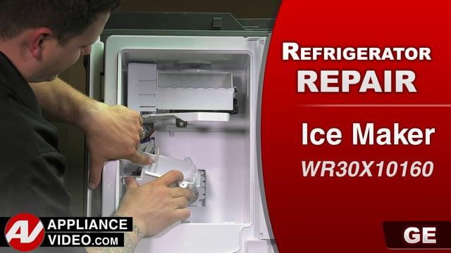 GE GFE28HMKES Refrigerator – No ice production – Ice Maker