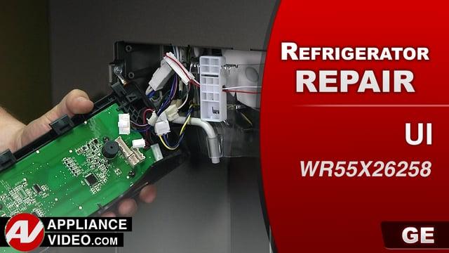GE GFE28HMKES Refrigerator – No responsive user interface – User Interface