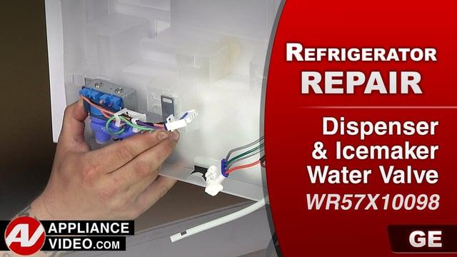 GE GFE28HMKES Refrigerator – No water from dispenser – Dispenser Water Valve