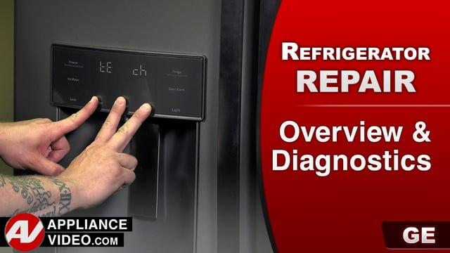 GE GFE28HMKES Refrigerator – Overview & Diagnostics