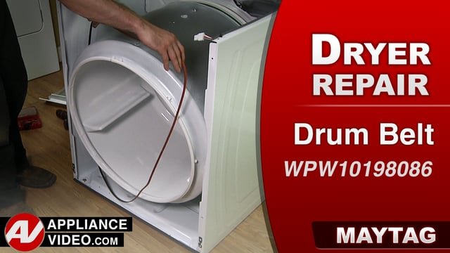 Maytag MEDC555DW2 Dryer – Will not tumble – Drum Belt