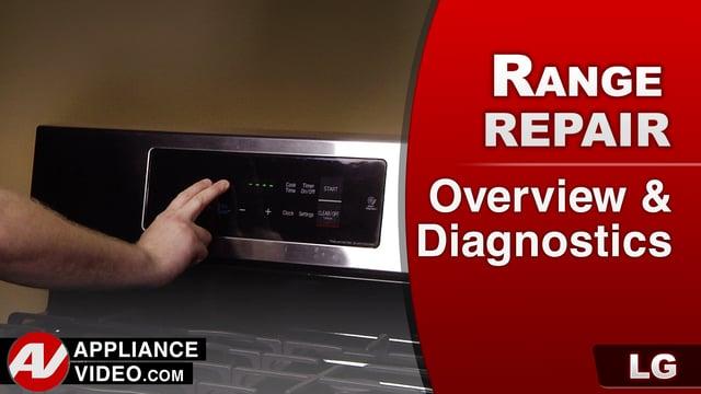 LG LRG3091ST Oven – Overview & Diagnostics