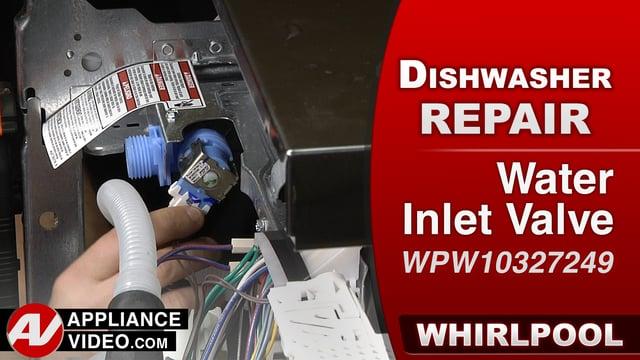 Whirlpool Wdf560safm2 Dishwasher No Water Entering Unit
