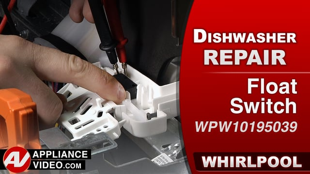 Whirlpool WDF560SAFM2 Dishwasher – Over flowing water – Float Switch