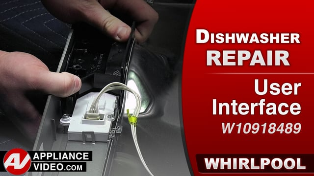 Whirlpool WDF560SAFM2 Dishwasher – Buttons will not work – User Interface