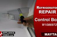 Whirlpool WRT316SFDM01 Refrigerator – Not cooling properly – Condenser Fan Motor