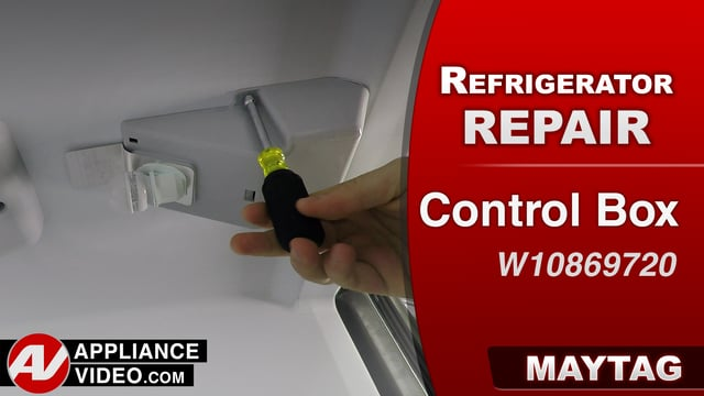 Maytag MRT519SZDM01 Refrigerator – Fridge and freezer are not cooling  – Control Box