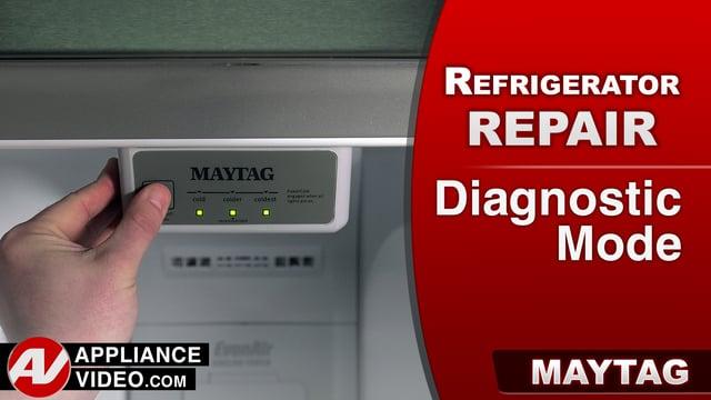 Maytag Mrt519szdm01 Refrigerator Diagnostic Mode