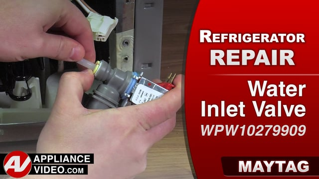 Maytag Mrt519szdm01 Refrigerator Leaking Water Water