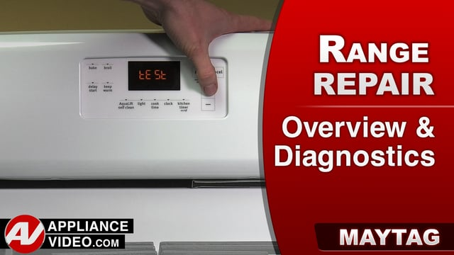Maytag MGR8600DH Stove – Overview / Diagnostics