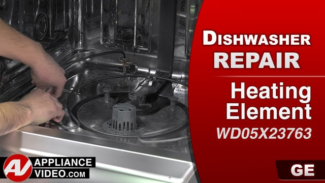 GE GDT655SSJ2SS Dishwasher – Dishes not drying – Heating Element