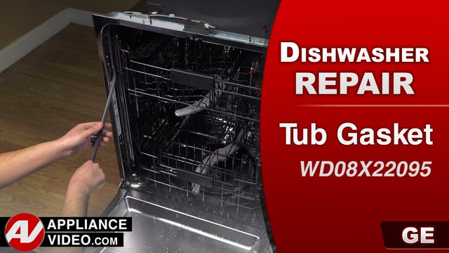 GE GDT655SSJ2SS Dishwasher – Leaking water – Tub Gasket