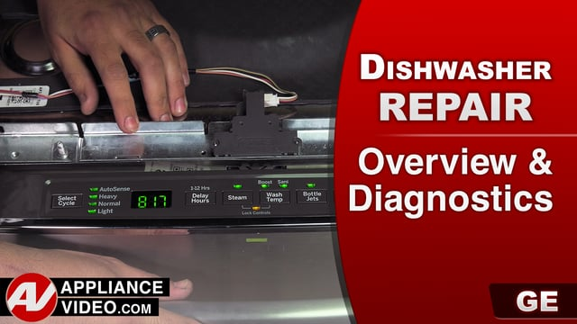 GE GDT655SSJ2SS Dishwasher – Overview / Diagnostics