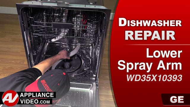 GE GDT655SSJ2SS Dishwasher – Poor washability – Lower Spray Arm
