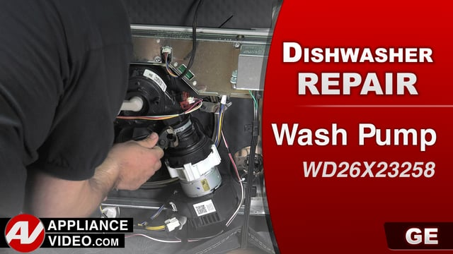 GE GDT655SSJ2SS Dishwasher – Poor washability – Wash Pump