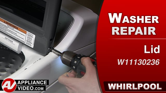 Whirlpool WTW7500GW0 Washer – Cosmetic damage – Lid