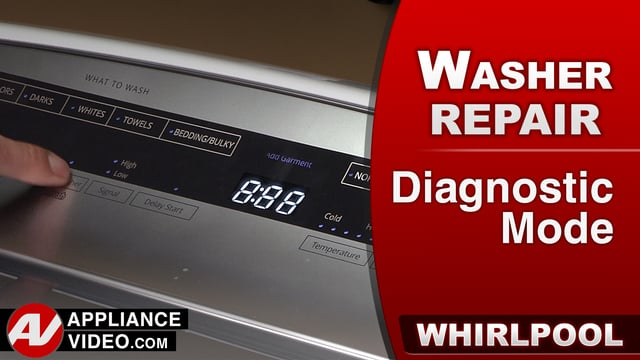 Whirlpool WTW7500GW0 Washer – Diagnostics Mode