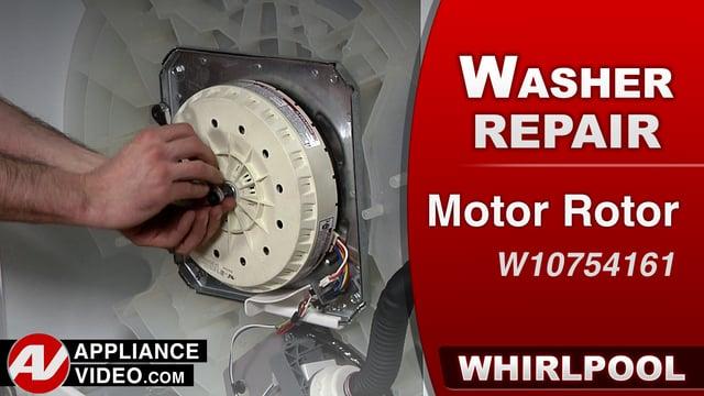 Whirlpool WTW7500GW0 Washer – F0E3 or F7E9 Error – Rotor