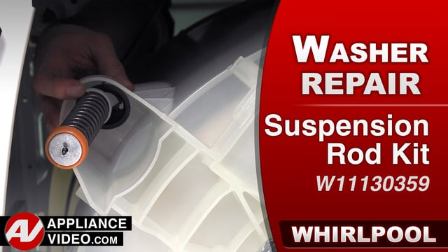 Whirlpool WTW7500GW0 Washer – F0E5 Error – Suspension Rod Kit