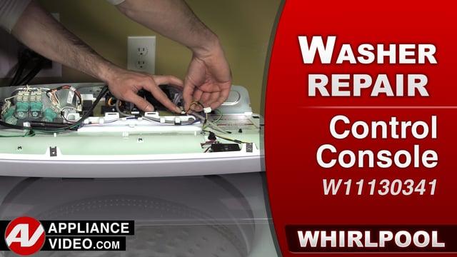 Whirlpool WTW7500GW0 Washer – F6E2 or F6E3 Error – Console