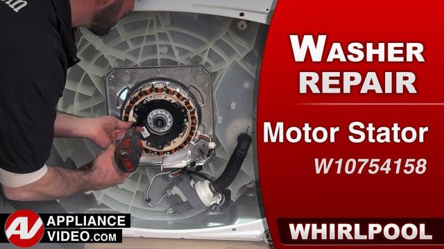 Whirlpool WTW7500GW0 Washer – F7E6 Error – Stator