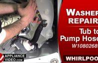 Whirpool WTW7500GW0 Washer – F6E2 or F6E3 Error – Console