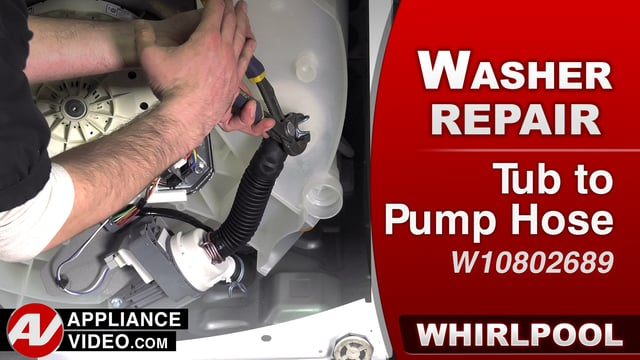 Whirlpool WTW7500GW0 Washer – Leaking water – Tub to Pump Hose