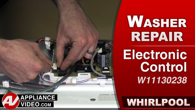 Whirlpool WTW7500GW0 Washer – Will not power on – Electronic Control