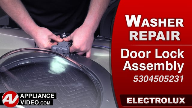 Electrolux EFLS617STT Washer – Error code 42 – Door Lock Assembly