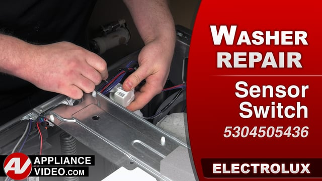 Electrolux EFLS617STT Washer – Error code 35 Over filling – Pressure Sensor Switch