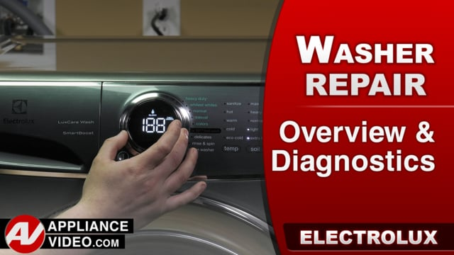 Electrolux EFLS617STT Washer – Overview / Diagnostics