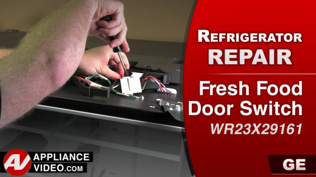 GE GFE28GSKISS Refrigerator – Lights will not come on – Fresh Food Door Switch
