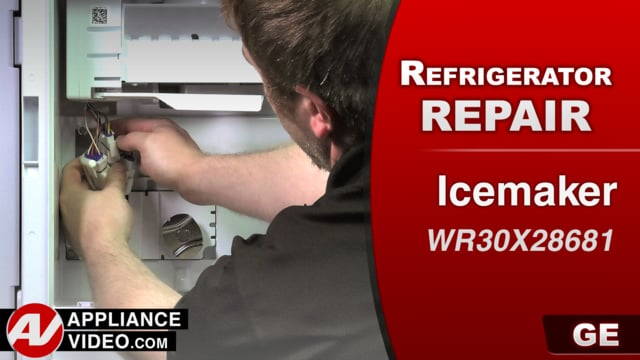 GE GFE28GSKISS Refrigerator – Will not produce ice – Ice Maker