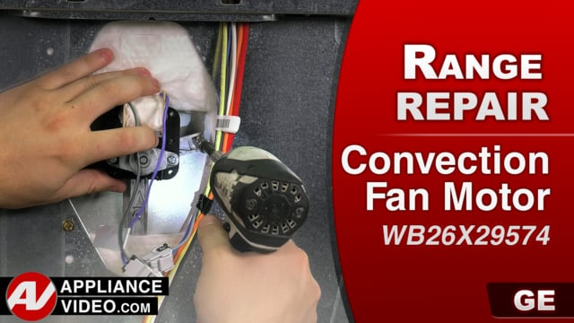 GE JB655SK3SS Stove – Loud noises – Convection Fan Motor