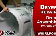 Whirlpool WED7300DW1 Dryer – Cosmetic damage – Drum Baffle