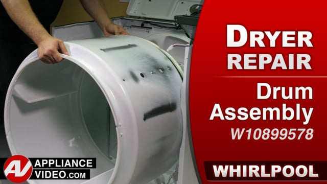 Whirlpool WED7300DW1 Dryer – Cosmetic damage – Drum Assembly