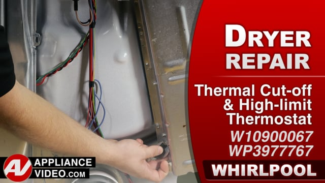 Whirlpool WED7300DW1 Dryer – Does not heat at all – Thermal Cut-off