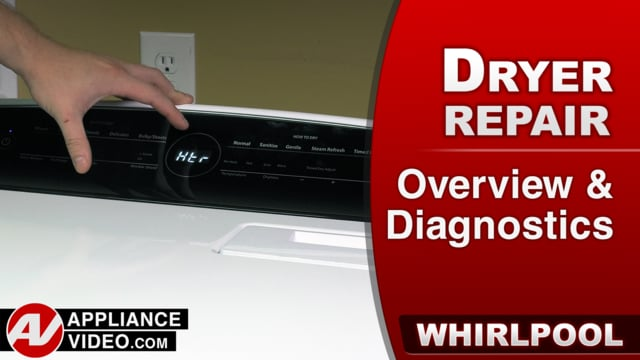 Whirlpool WED7300DW1 Dryer – Overview / Diagnostics