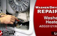 LG WM3488HW Washer – 1E Error Code – Cold Water Inlet Valve
